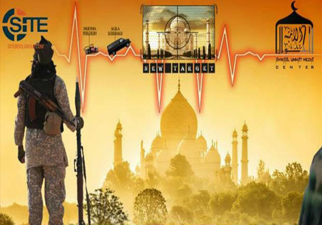 New ISIS poster shows Taj Mahal as their 'New Target'