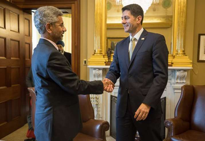 FS Jaishankar meets US House of Representatives Paul Ryan