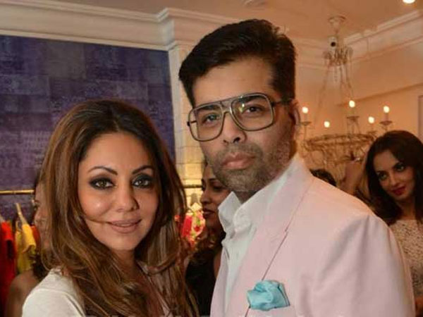 Karan thanks Gauri for designing his kids Yash and