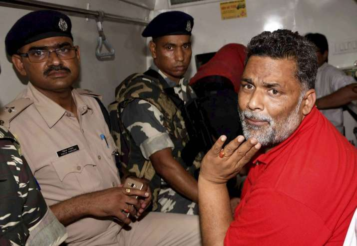 MP Pappu Yadav arrested after high-voltage drama at his