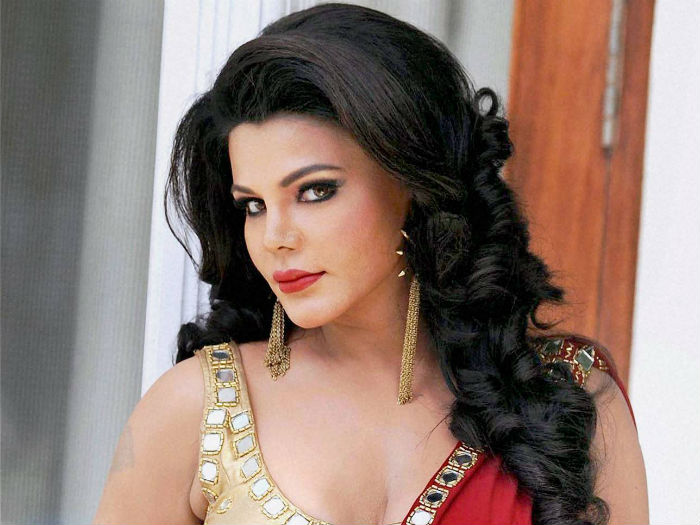 Rakhi Sawant on viral video