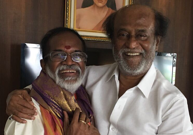 Rajnikanth meets BJP nominee for RS Nagar bypoll Gangai