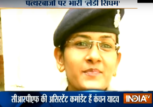 CRPF's 'Lady Singham', the officer who daringly