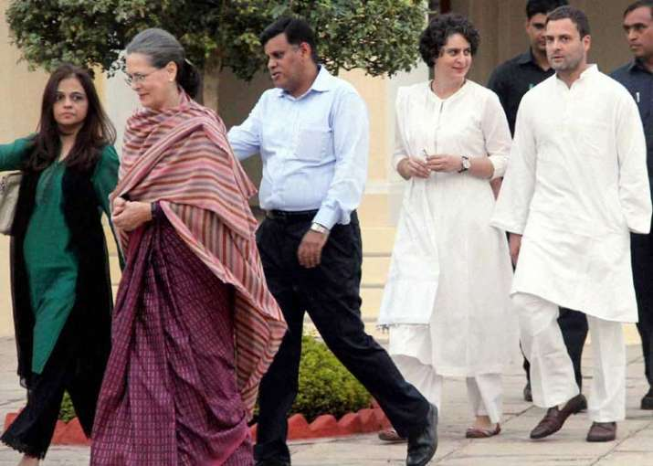 Rahul Gandhi himself has asked for structural changes in