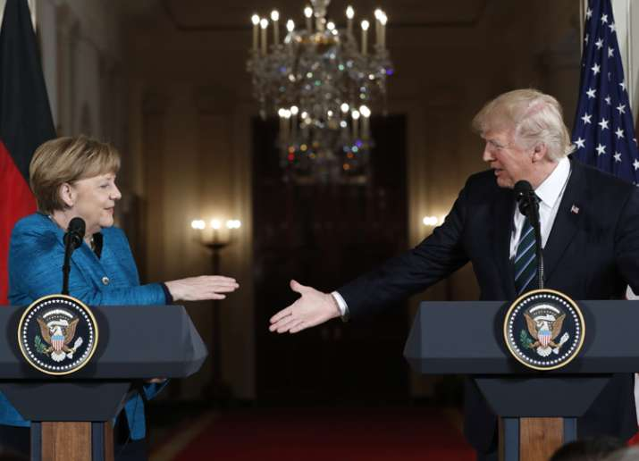 US must be paid more to defend Germany, Trump tweeted on