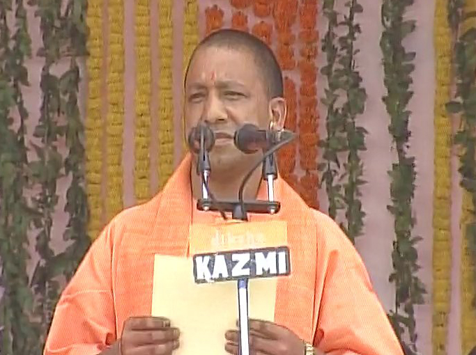Yogi Adityanath to take oath as UP CM today