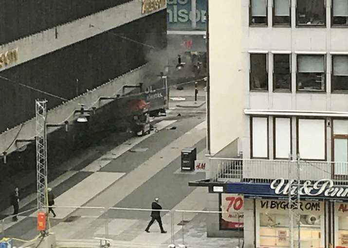 Stockholm, Truck Accident, People Killed