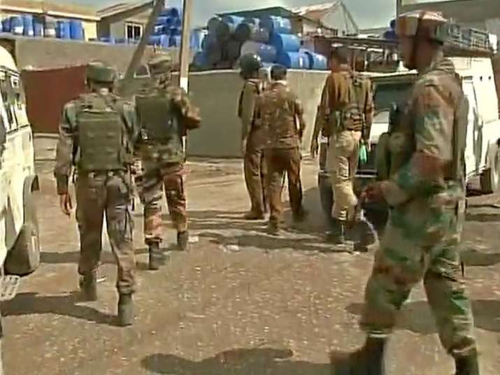 Militants attack Army convoy in Kashmir, operation underway