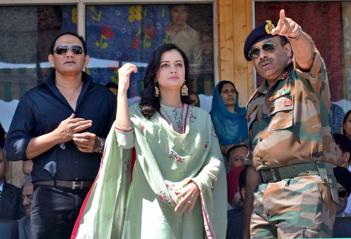 Azharuddin attended youth festival Jashn-e-Baramulla in