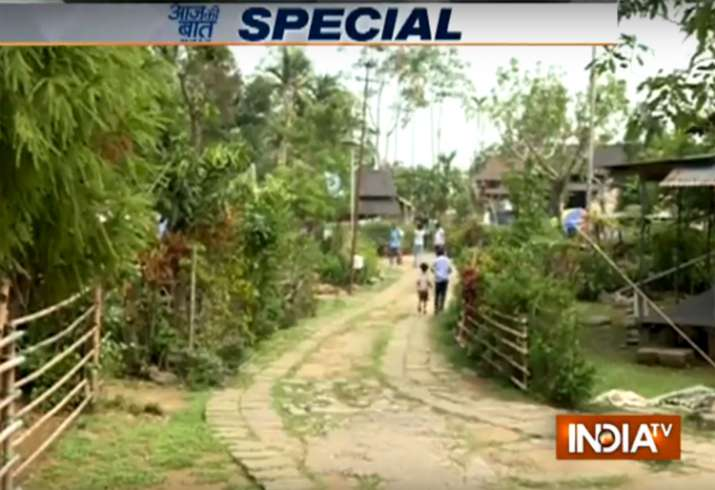 Mawlynnong in Meghalaya is Asia's cleanest village