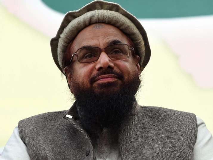 File pic of Hafiz Saeed
