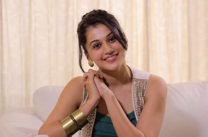Not stressed about 'Judwaa 2', says Taapsee Pannu