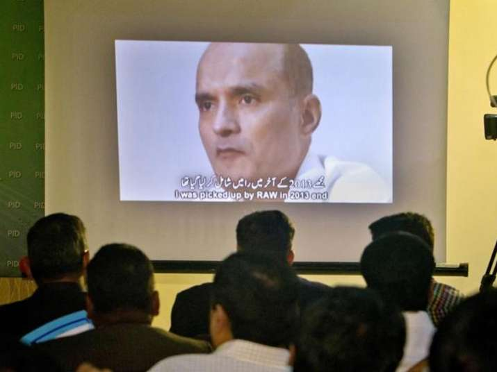 File pic of former Indian Navy officer Kulbhushan Jadhav