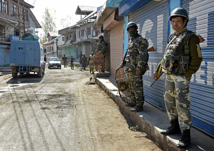 Plastic bullets to be used for crowd control in Kashmir