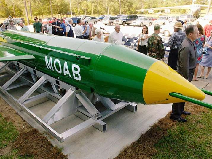 13 Indians among 94 killed in 'Mother of all bombs'