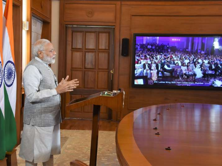 PM Modi addressing the 50th year celebrations of the