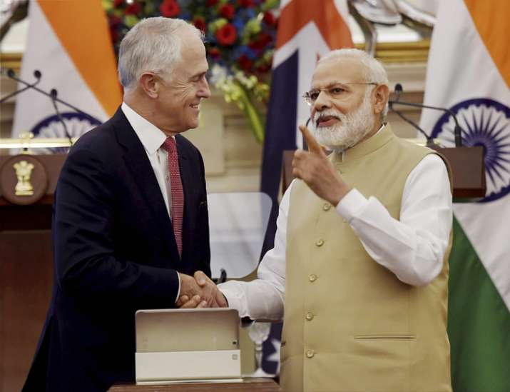 India, Australia sign pact to expand counter-terror