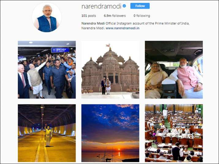 PM Modi becomes world's most followed leader on Instagram