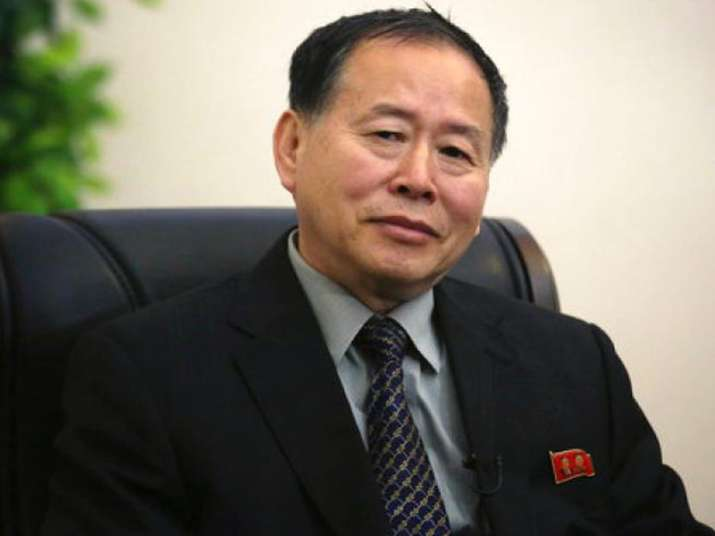 File pic of North Korean vice foreign minister Han Song Ryol