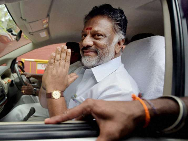 File pic of former Tamil Nadu Chief Minister O.