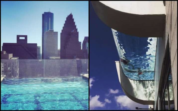 Can you dare to swim in this 'glass-bottomed' swim