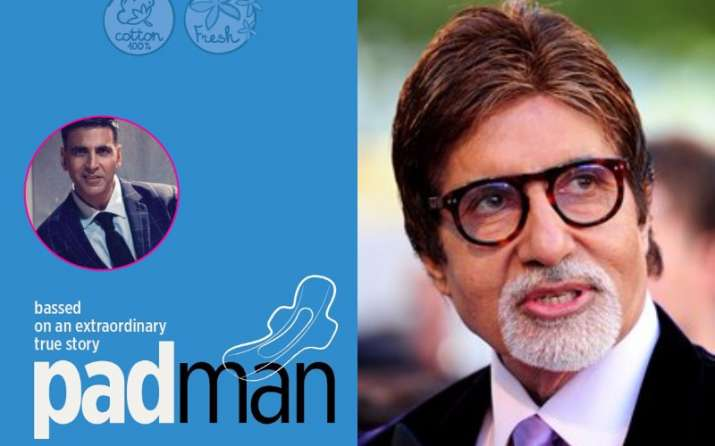 Confirmed! Amitabh Bachchan to appear in 'Padman'