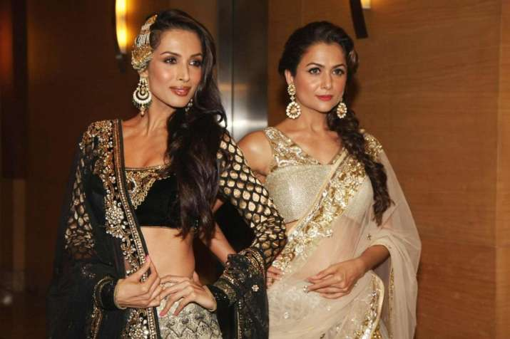 Malaika and Amrita sizzles in this magazine cover