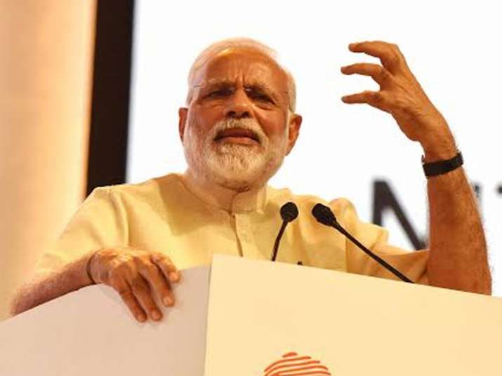 PM Narendra Modi speaks at an event in Nagpur