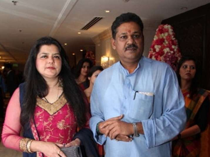 Suspended BJP MP Kirti Azad's wife quits AAP, joins Congress