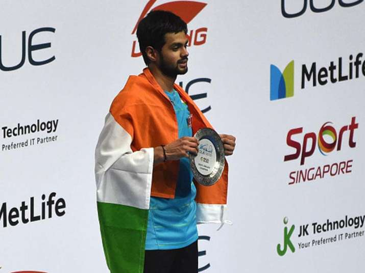 File pic of shuttler Sai Praneeth