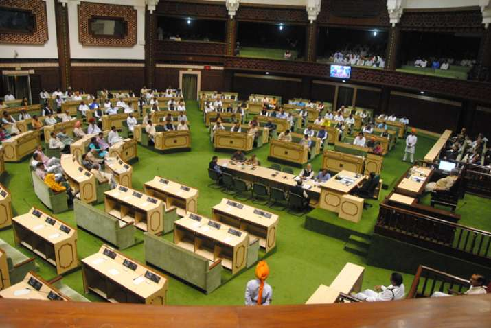 14 opposition MLAs suspended from Rajasthan Assembly for a
