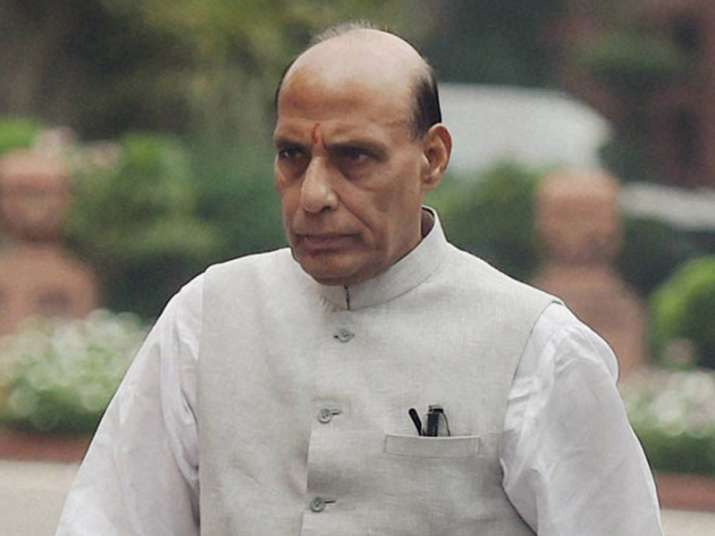 File pic of Union Home Minister Rajnath Singh