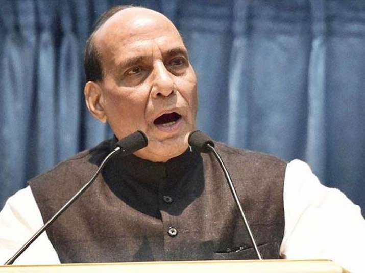 File pic of Home Ministry Rajnath Singh