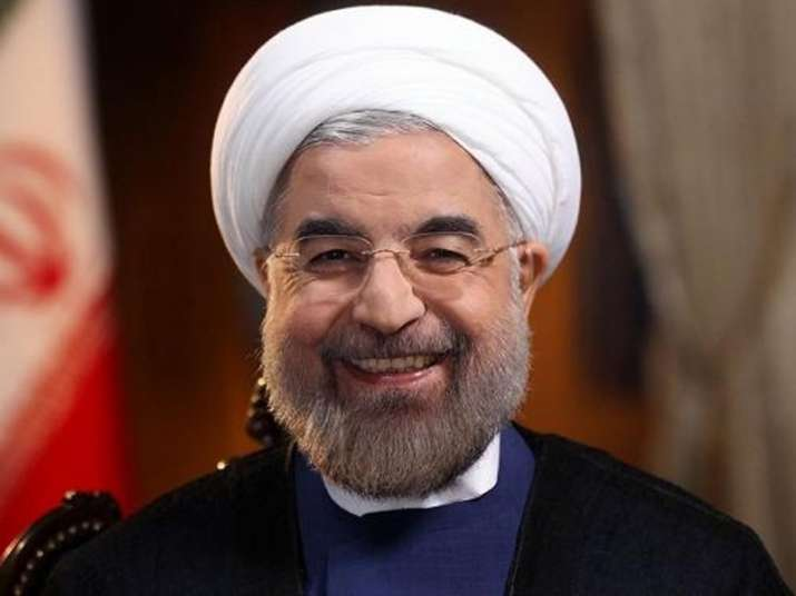 File pic of Iran President Hassan Rouhani