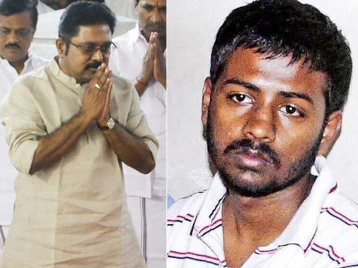 File pic of TTV Dinakaran and Sukesh Chandrasekar