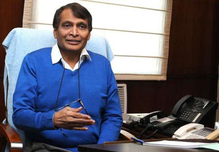 Suresh Prabhu warns officials on train delays