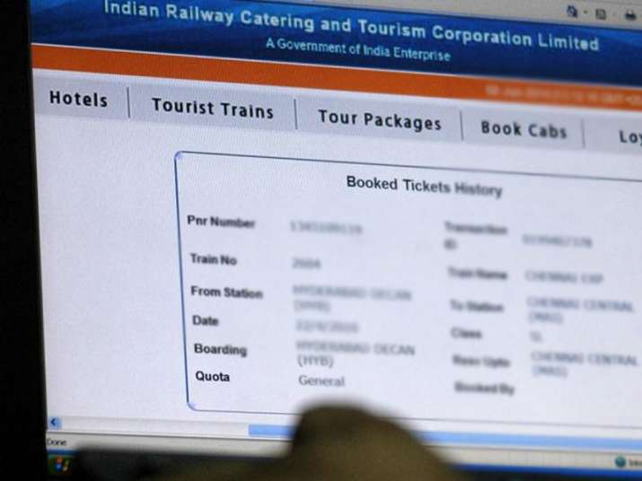 Withdrawal of service charge on e-tickets of train extended