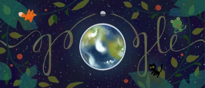 India Tv - Google's Earth Day Doodle: Do your bit, save the planet