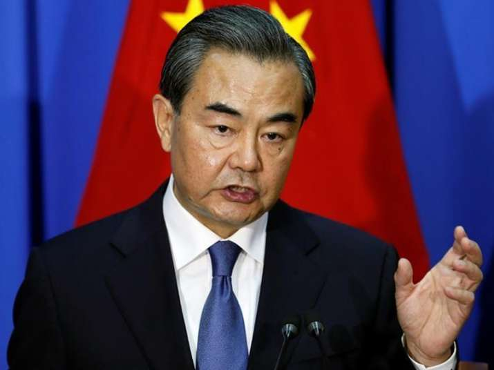 File pic of China's Foreign Minister Wang Yi