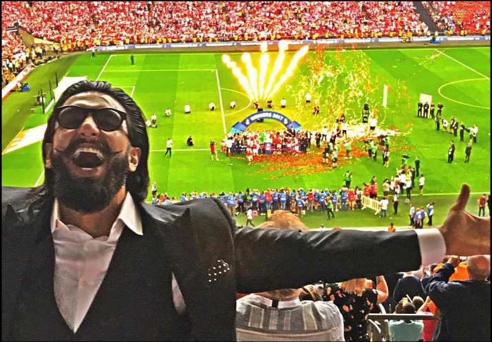 Ranveer Singh will be flying to Cardiff