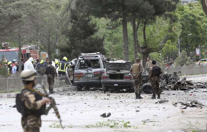 18 killed in suicide car bomb attack in Afghanistan