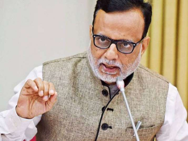 File pic of Revenue Secretary Hasmukh Adhia