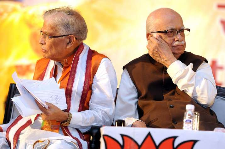 Court frames 'conspiracy charges' against Advani, Joshi,