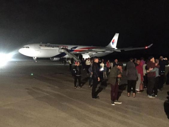 Malaysia Airlines flight turned back after 'drunk'