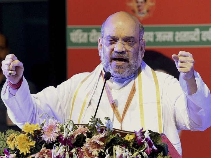 File pic of BJP president Amit Shah