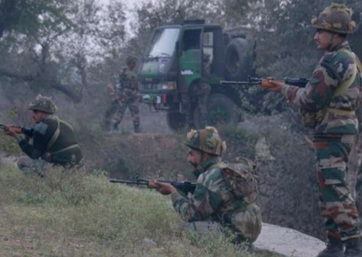Representational pic - Army foils infiltration bid along