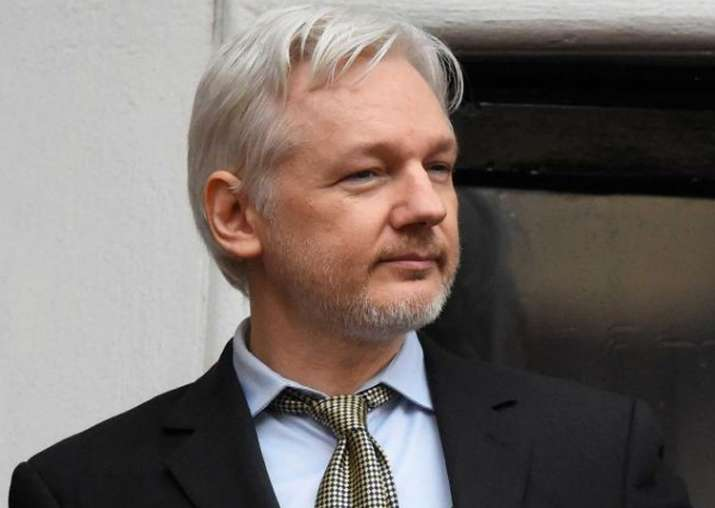 File pic of Julian Assange