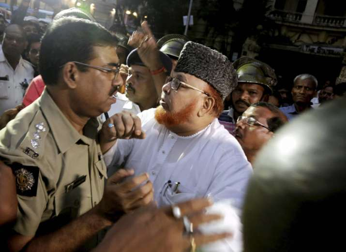 Barkati was today removed as the Shahi Imam of Tipu Sultan