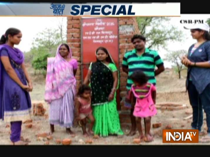College students construct toilets to make 101 villages