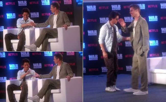 From dancing to promoting War Machine: Brad Pitt and Shah